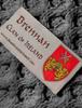 Brennan Clan Scarf - Label
