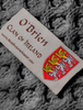 O'Brien Clan Scarf - Label