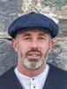 Donegal Tweed Men's Driving Cap - Navy