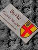 Burke Clan Scarf - Label