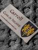 Carroll Clan Scarf - Label