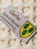 Clarke Clan Scarf - Label