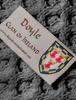 Doyle Clan Scarf - Label