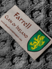 Farrell Clan Scarf - Label