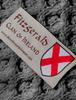 Fitzgerald Clan Scarf - Label