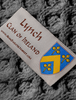 Lynch Clan Scarf - Label