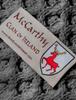 Mc Carthy Clan Scarf - Label