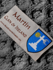 Martin Clan Scarf - Label