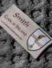 Smith Clan Scarf - Label