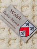 Walsh Clan Scarf - Label