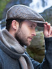 Trinity Tartan Flat Cap - Brown Check