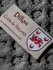 Dillon Clan Scarf - Label