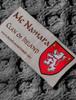 Mc Namara Clan Scarf - Label