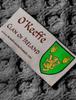 O'Keeffe Clan Scarf - Label