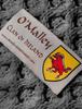 O'Malley Clan Scarf - Label