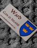 Ward Clan Scarf - Label