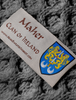 Maher Clan Scarf - Label