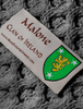 Malone Clan Scarf - Label