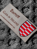 Barrett Clan Scarf - Label