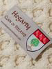 Hegarty Clan Scarf - Label