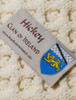 Hickey Clan Scarf - Label