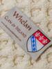 Whelan Clan Aran Throw - Label