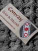 Conway Clan Scarf - Label
