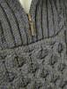 Heavyweight Merino Wool Aran Troyer