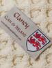 Clancy Clan Aran Throw - Label