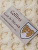 Collins Clan Aran Throw - Label