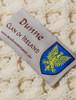 Dunne Clan Aran Throw - Label