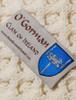 Gorman Clan Aran Throw - Label