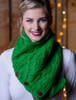 Handknit Fleece Lined Neckwarmer