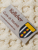 Kelleher Clan Aran Throw - Label