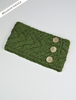 Super Soft Cable Stitch Headband - Meadow Green