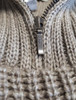 Ribbed Merino Troyer - Zip Feature