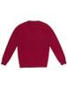 Womens Lambswool V-Neck Sweater - Venetian Red
