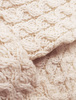 Merino Honeycomb Hoodie - Pattern Detail