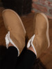 Irish Suede Adult Slippers - Warm Toast