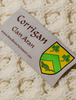 Corrigan Clan Scarf - Label