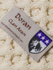 Doran Clan Aran Throw - Label