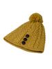 Merino Pom Pom Hat- Sunflower