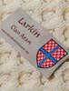 Larkin Clan Scarf - Label