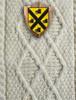 Purcell Clan Aran Throw