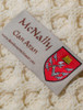 Mc Nally Clan Scarf - Label
