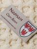 Noonan Clan Aran Throw - Label