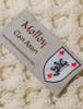 Molloy Clan Scarf - Label