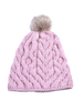 Aran Bobble Hat - Ink
