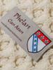 Phelan Clan Scarf - Label