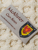 McAllister Clan Scarf - Label